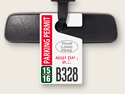 Custom Hang Tag Permits