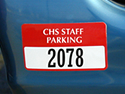 Custom Bumper Sticker Permits