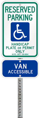 Arizona-handicap-parking-permit-signs