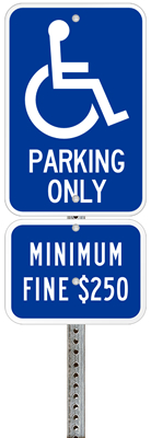 California-handicap-parking-permit-signs