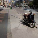 Scooter parking: the legalities can be bumpy