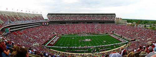 University of Alabama's Bryant-Denny stadium