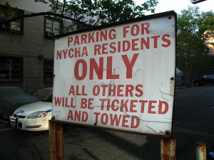 Residents with permits WISH this were the case. via Walter Grutchfield.