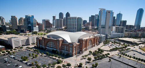 American Airlines center Dallas Texas