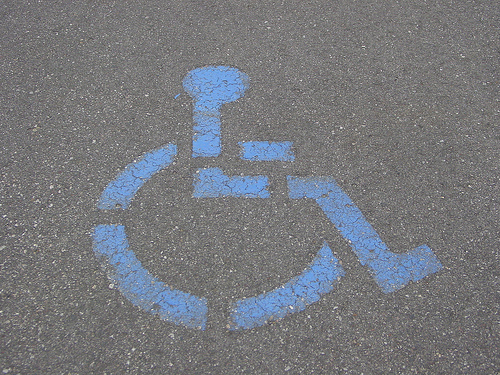 Handicap parking Chicago