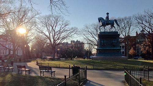 Logan circle in Washington, D.C.