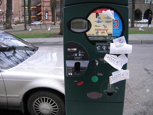 Parking meter in portland