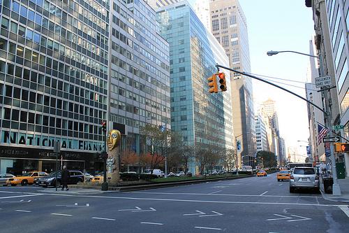 NYC park avenue