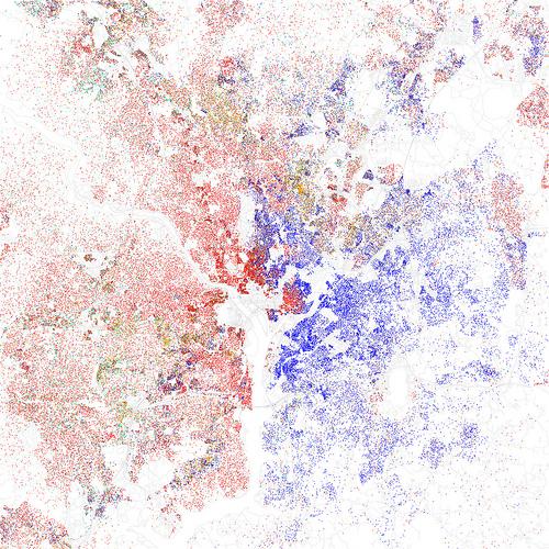 map of washington D.C. by race/ethnicity