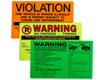 Parking Lot Stickers & Permits