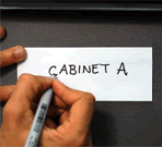Write-On (and Wipe-Off) Magnetic Labels