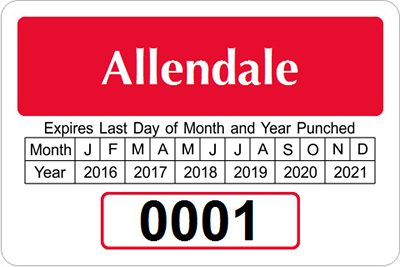 Punch-Out Permits for Expiration Date   MyParkingPermit.com